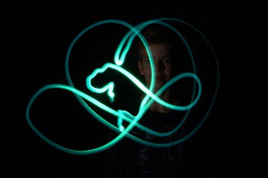 Lichtgrafitti - Malen mit Licht